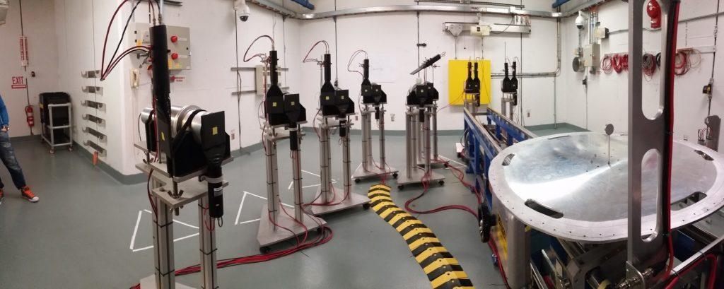 Radiation Lab with Equipment